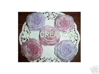 20 Two Tone Small Roses
