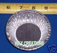 3 & 5 inch Tart Pie Aluminum Tins