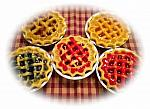 """5"""" Fruit Pie Wax Candles"""