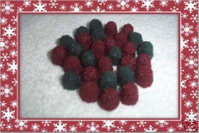 50 Christmas Snowberries