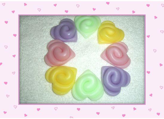 20 Swirl Spring Hearts