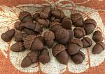 35 Wax Acorns