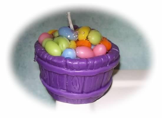 Wax jelly bean bucket/tub