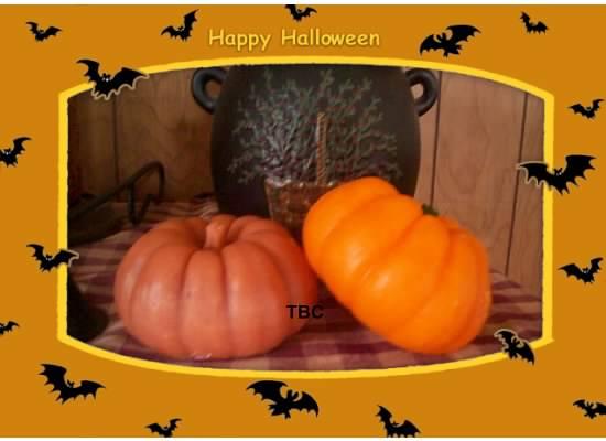 Wax Pumpkin shelf sitter/candle