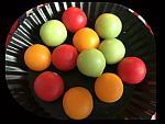36 wax melon balls