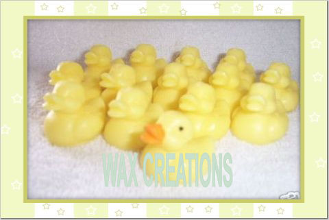 Wax Baby Ducks