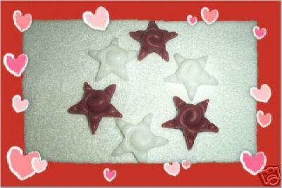 18 Swirl Valentine Stars