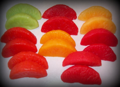 24 Wax Citrus Slices/YOUR CHOICE