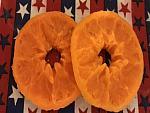 6 Dehydrated Wax Orange Slices