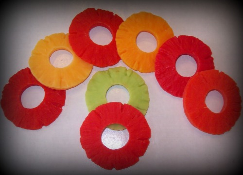 10 Fruit Rings/YOUR CHOICE