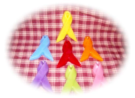 12 Large Awareness Ribbons