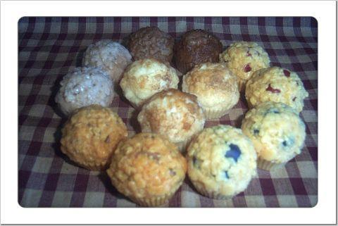 4 Bakery Style Mini Muffins