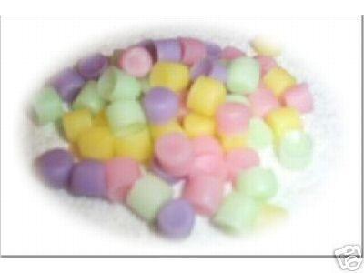 60 Pastel mini marshmallows