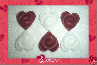 18 Swirl Valentine Hearts