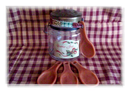 12 Primitive Wax Wooden Spoons